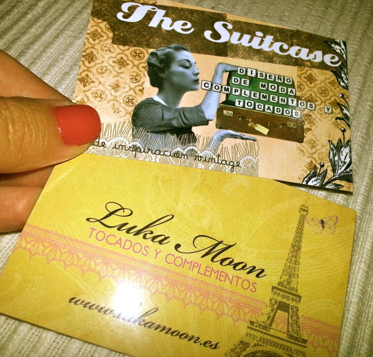 The Suitecase tarjetas visita