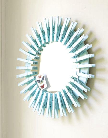 espejo decorado DIY