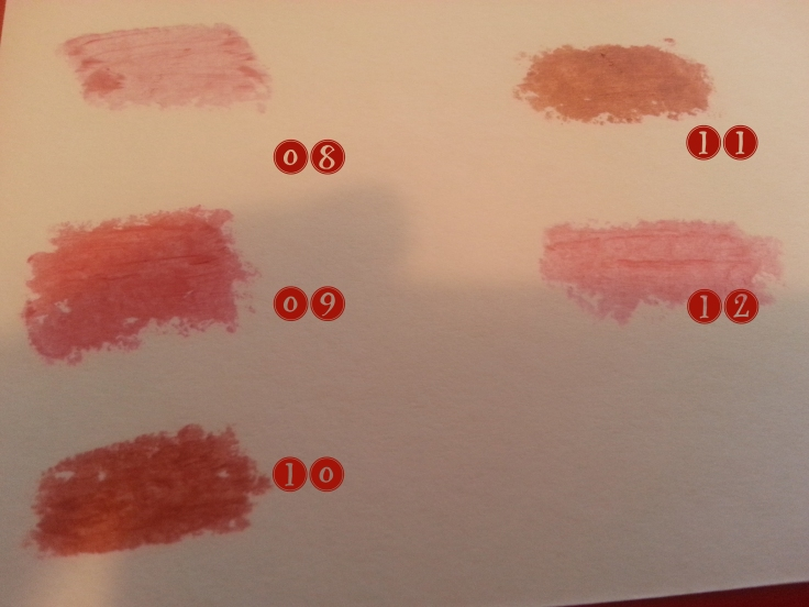 swatches labiales falsos mac ebay